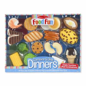 Combine & Dine Dinners (18 piece set) - Blue