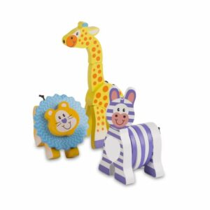 First Play Safari Grasping Toys