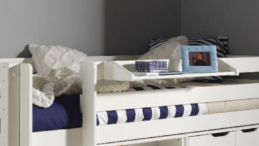 Mezzanine Double High Sleeper Bed