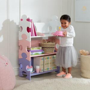 Puzzle Bookshelf - Pastel by KidKraft