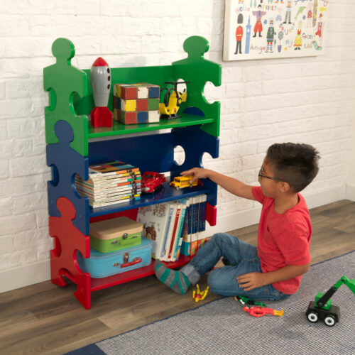 Puzzle Bookshelf - Primary by KidKraft