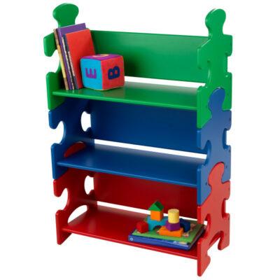 Puzzle Bookshelf - Primary by KidKraft
