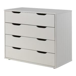 Standard 4 Drawer Chest - White