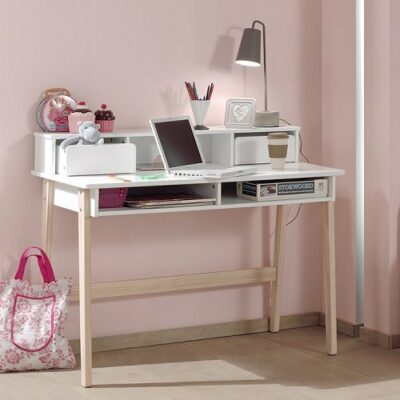 Hallie Desk - White