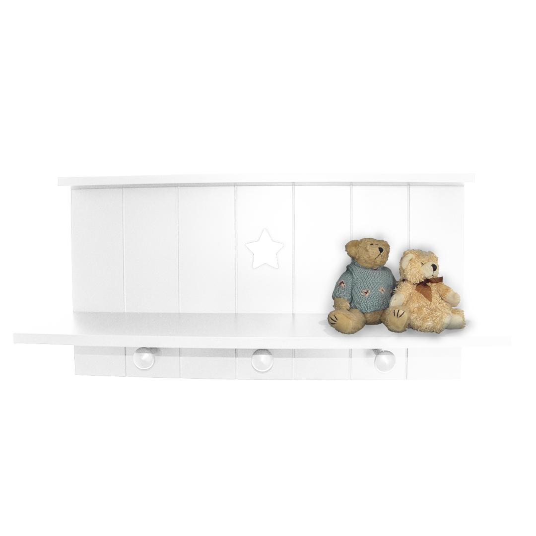 Star Wall Shelf - White