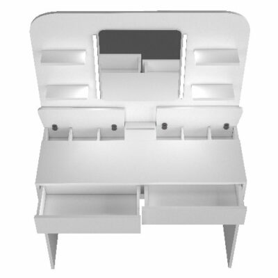 Maisie Dressing Table - White by Trasman