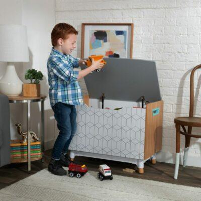 Mid-Century Kid Toy Box by KidKraft