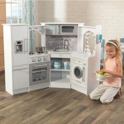 Ultimate Corner Play Kitchen with Lights & Sounds by KidKraft