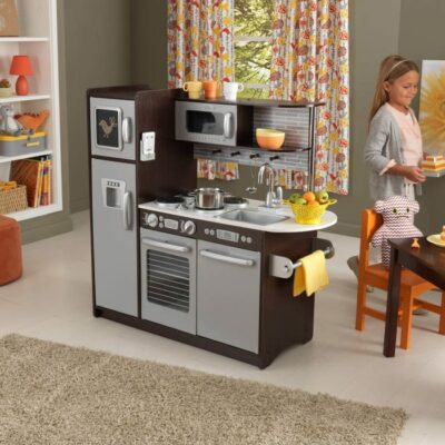 Uptown Espresso Play Kitchen by KidKraft
