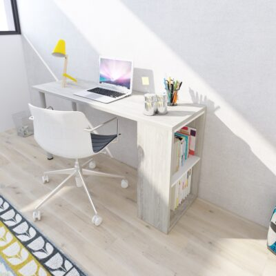 Blake Desk - Cascina/White by Trasman