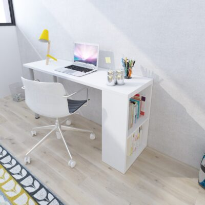 Blake Desk - White by Trasman