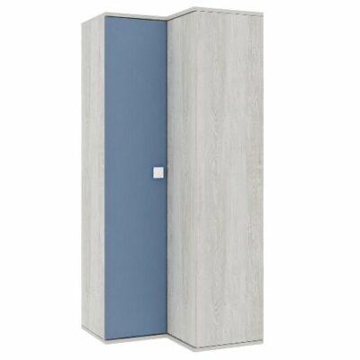 Corner Wardrobe - Cascina/Blue Trasman