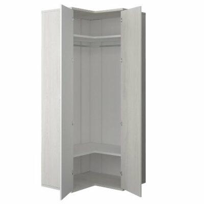 Corner Wardrobe - Cascina/White Trasman