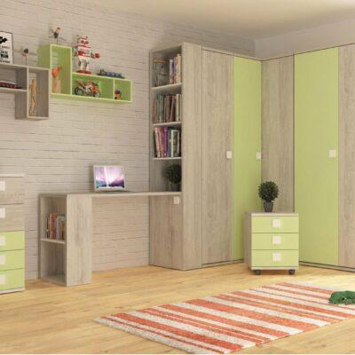 Lane Wall Shelf - Apple Green by Trasman
