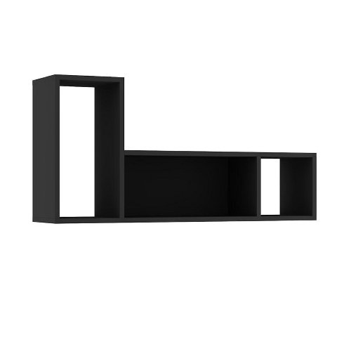 Lane Wall Shelf - Graphite by Trasman