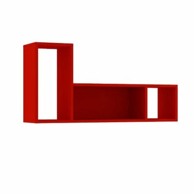 Lane Wall Shelf - Red by Trasman