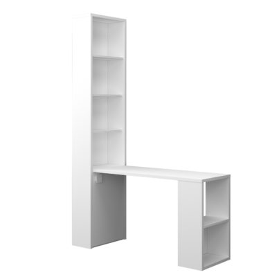Nash Desk - White by Trasman