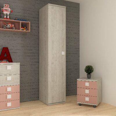 Wardrobe with 1 Door - Cascina by Trasman