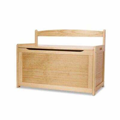 Wooden Toy Chest - Honey