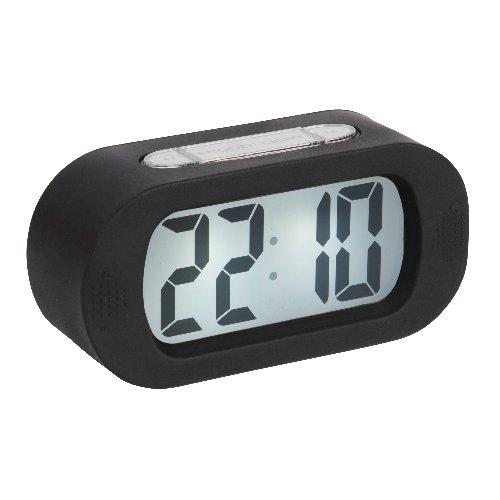 Gummy Alarm Clock - Black
