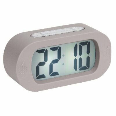 Gummy Alarm Clock - Grey