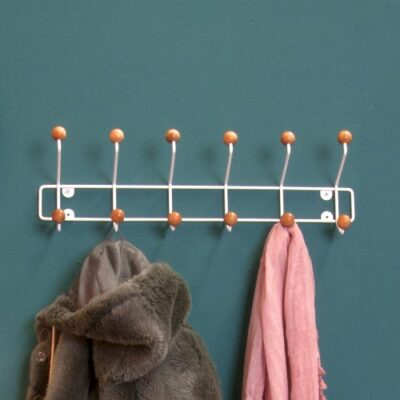 Saturnus Coat Rack with 12 Knobs