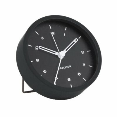 Tinge Alarm Clock - Black