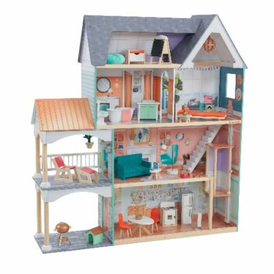 Dahlia Mansion Dollhouse with Furniture by KidKraft