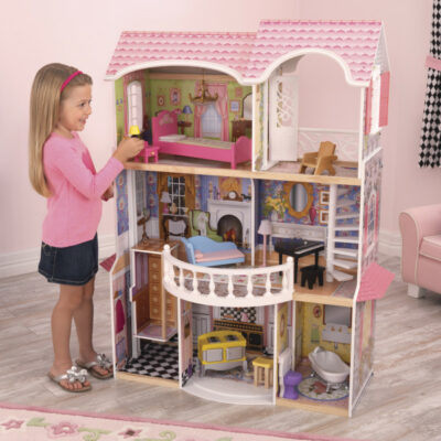 Magnolia Mansion Dollhouse with Furniture by KidKraft