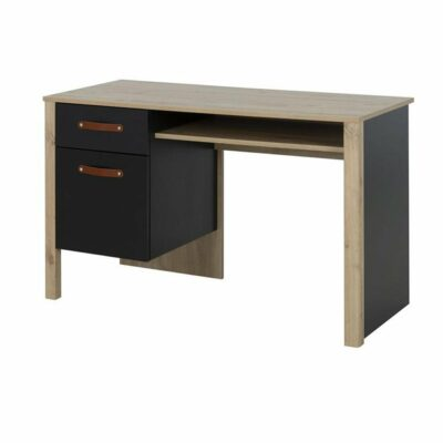 Arthus Desk - Artisan Oak/Black by Gami