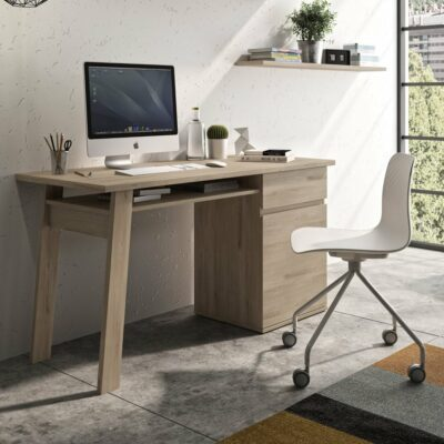 Balikhan Desk - Light Oak by Diagone