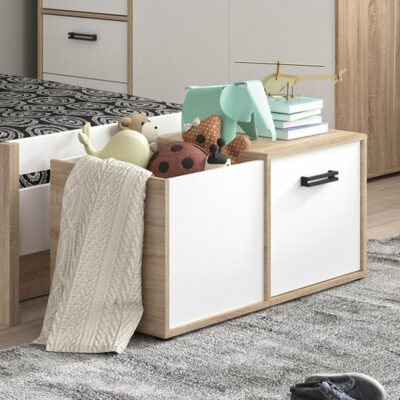 Kyllian Chest with 1 Door - Sonoma Oak by Gami