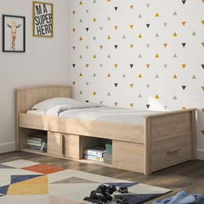 Montana Cabin Bed - Blond Oak by Gami