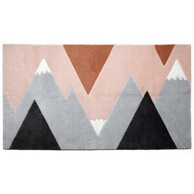 Mountain Trip Rug - Pink by Lifetime Kidsrooms