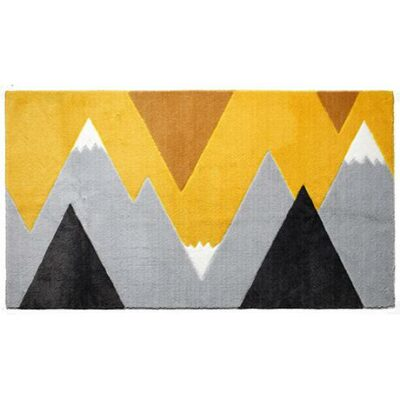 Mountain Trip Rug - Yellow by Lifetime Kidsrooms