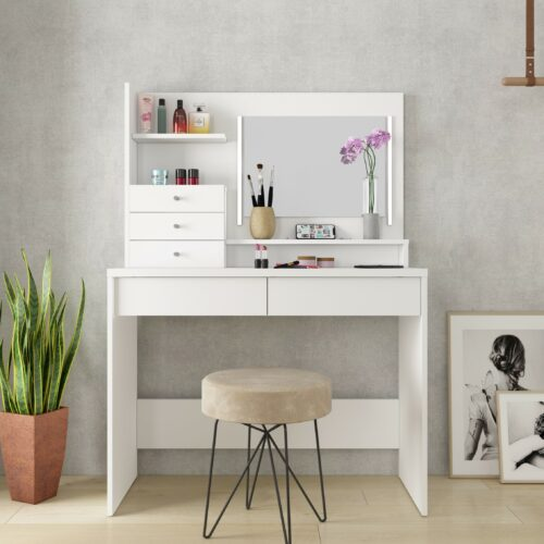 Wish Dressing Table - White by Trasman