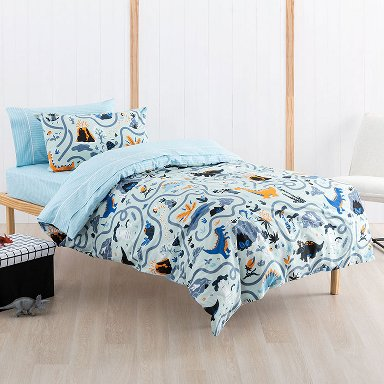 Dino Maze Duvet Set (Single)