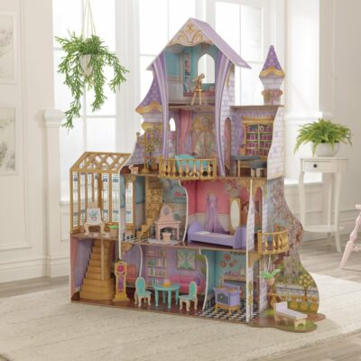 Enchanted Greenhouse Castle Dollhouse with Furniture by KidKraft