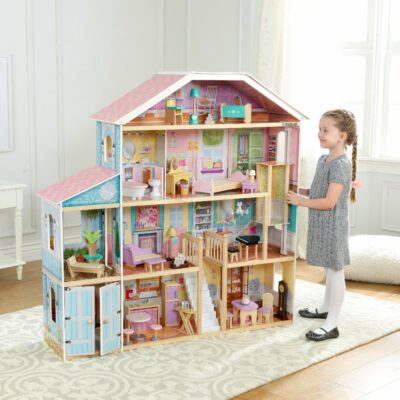Grand View Mansion Dollhouse with Furniture by KidKraft
