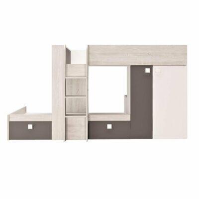 Bolton Bunk Bed (Bo1) - Cascina/Shade by Trasman