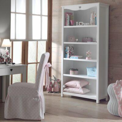Amori Bookcase - White