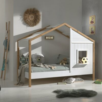 Babs House Bed - White