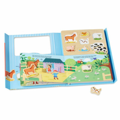 Book & Puzzle Play Set: On The Farm