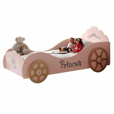 Princess Pinky Car Bed - Pink